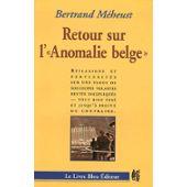 Retour sur l'anomalie belge.
