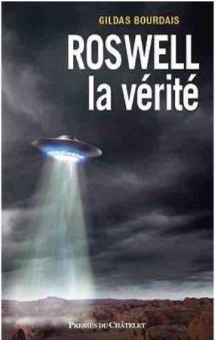 Son nouveau livre  Roswell la vérité