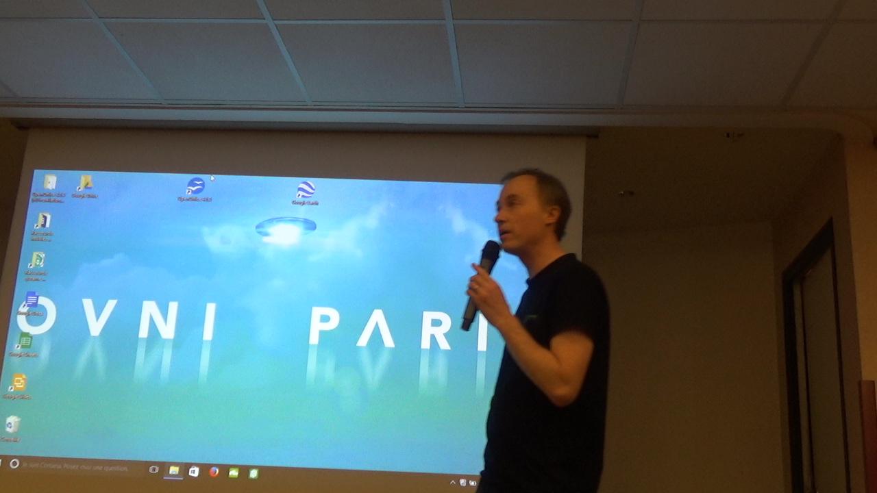 """Laurent Chabin sur les """"Lumières de Phenix"""""""