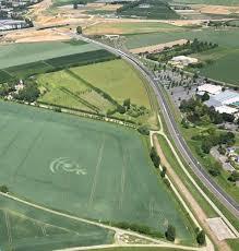 Positiondu cercle de Baillet / Croix-verte