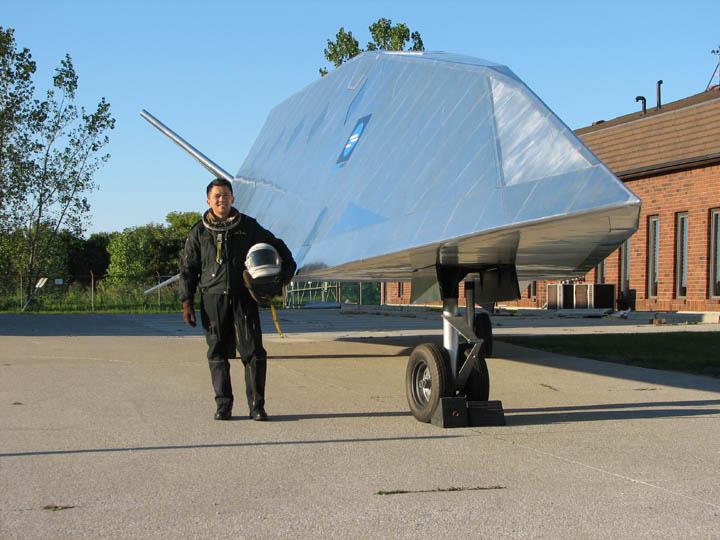 Projet Dart : le pilote et sa maquette