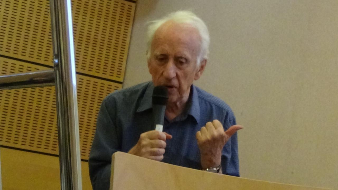Gildas Bourdais pendant son exposé (2)
