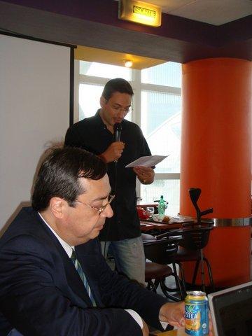 Jean Luc Rivera et Fabrice Bonvin