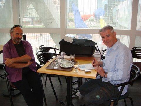 Deux représentants du SCEAU : Gilles Durand & Thierry Rocher