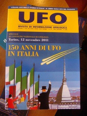 Couverture du magasine Italien UFO