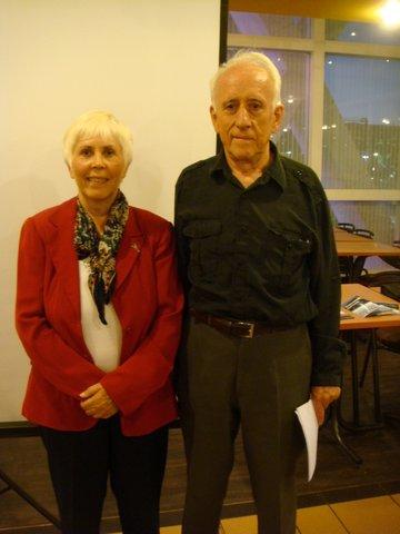 Mary Rodwell et Gildas Bourdais