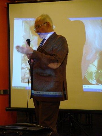 L'orateur Didier Leroux