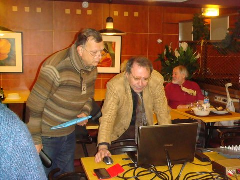 Patrice Galacteros et Gilles Lorant