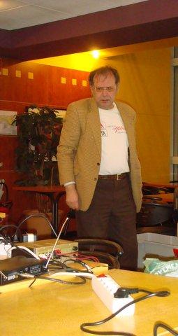 Gilles Lorant à la régie