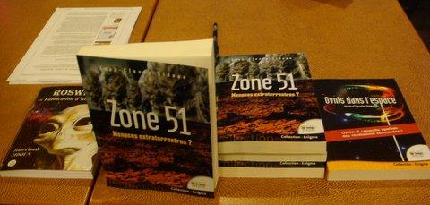 Zone 51 Le livre