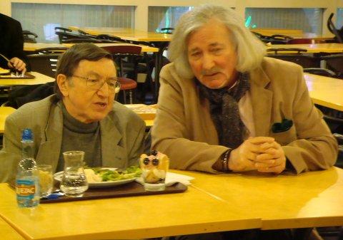 Jacques Scornaux du SCEAU avec J-C Sidoun