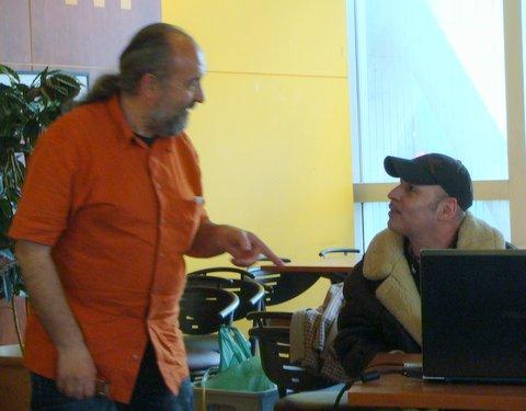 Gilles Durand du SCEAU et Egon
