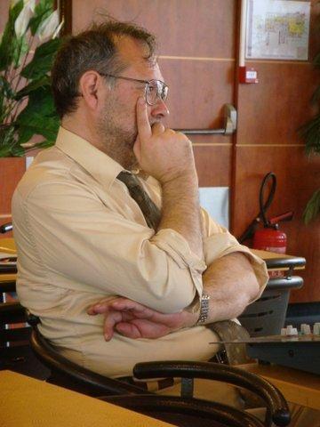 Gilles Lorant en spectateur