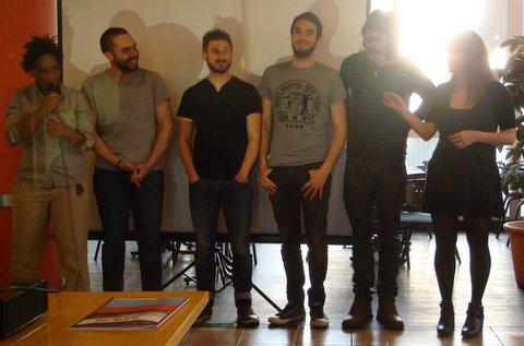 L'équipe du film : Photo de groupe