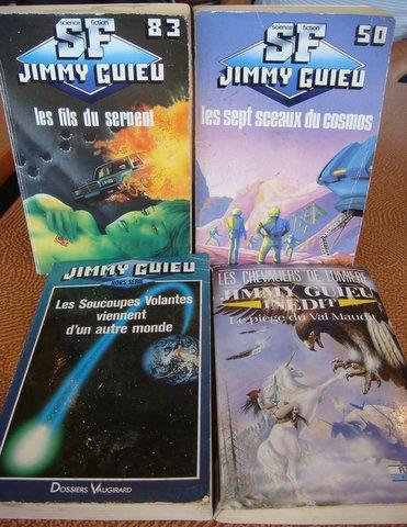4 livres de Jimmy Guieu présentés par J.C. Casanova