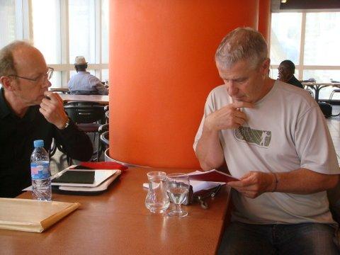 Raoul Robé et Thierry Rocher