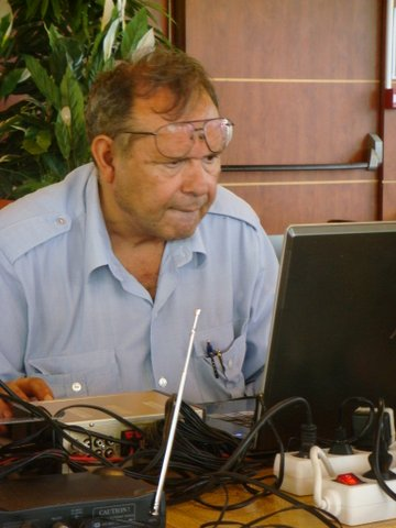 Gilles Lorant à la logistique