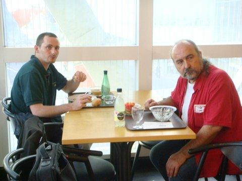 Julien Laffon-Fischer et Gilles Durand