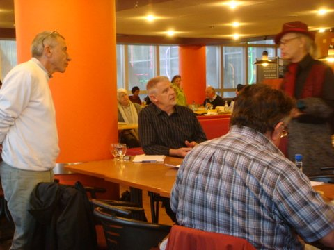 Thierry Rocher & YvonCayrel ,Gérard Deforge (de dos)