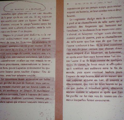 Des Ovnis au large de Gênes ? (2)