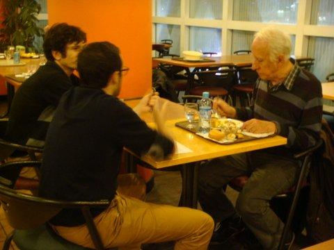 Gildas Bourdais avec en face Nicolas Lincy et Mathieu Roger