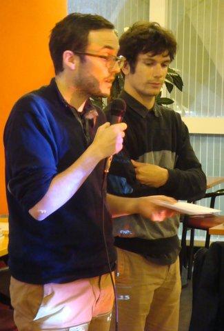 Nicolas Lincy et Mathieu Roger