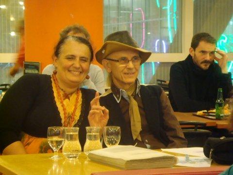 Yvon Cayrel et son amie