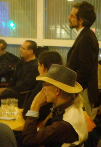 Yvon Cayrel et Mme  ainsi que  Stephan Royer et Niko en arrière plan