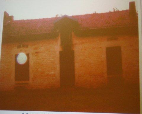 Un orbe photographié pres d'une maison de chasse.