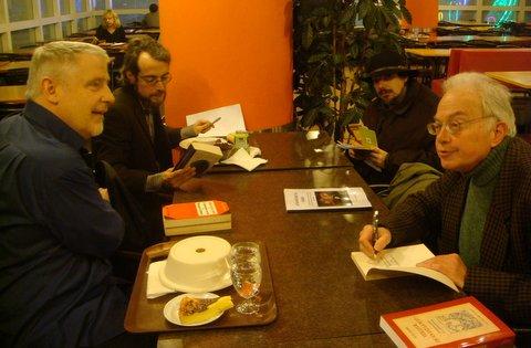 Thierry rocher , Nikolaos Koulis , MrCasanova et Jean Robin