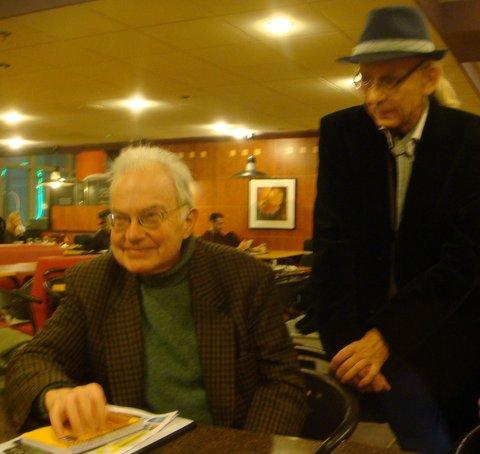Jean Robin et Yvon Cayrel.
