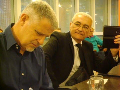 Thierry Rocher et Jean-Claude Leroy
