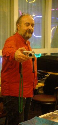 Gilles Durand en  photographe photographié.