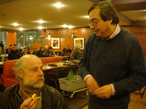 Daniel Hofnung et Jean-Luc Rivera
