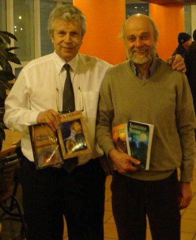 Guy Loterre et Daniel Hofnung (à droite )
