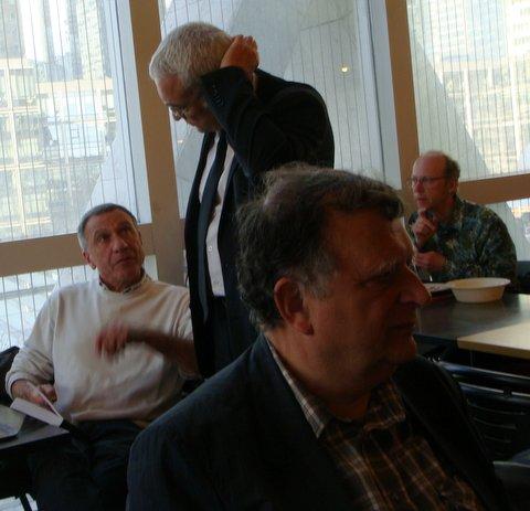Arrière plan : Jean Mazzesi , Jean Claude Leroy & Raoul Robé