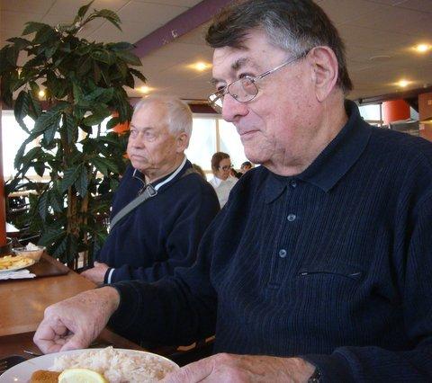 Jacky Kozan & Gérard Deforge  au 1er plan.
