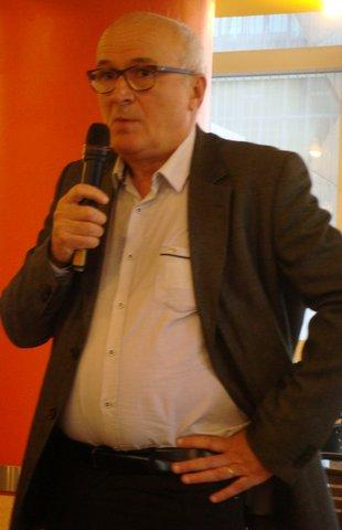 Jean-Paul Aguttes pendant sa présentation.