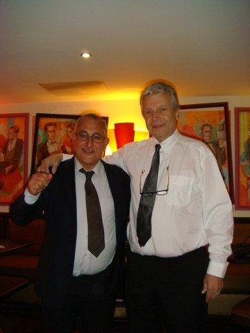 Guy Loterre présente Denis DENOCLA.