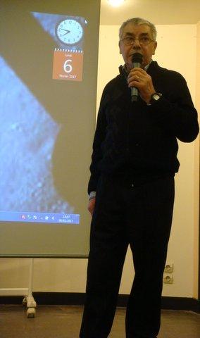 Claude Burkel : La conférence.