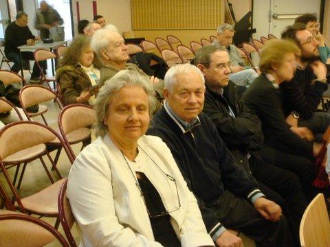 De G à D : Sylvie Joubert ,Jacky Kozan ,Didier Boulanger