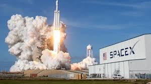Falcon Heavy décollage