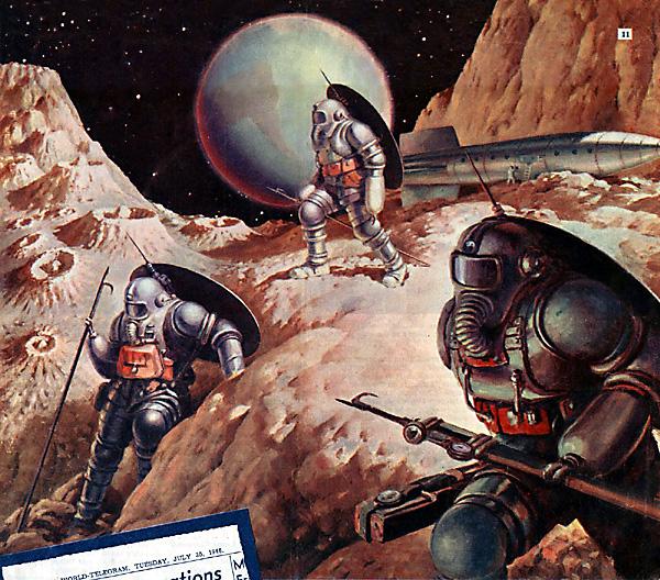 Chasse au harpon . . . sur un asteroid !