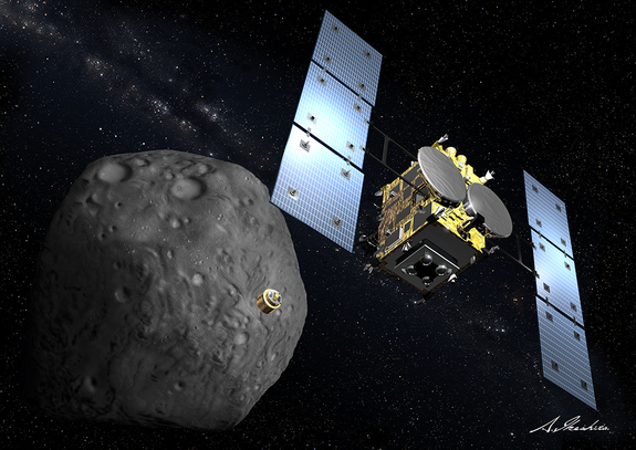 hayabusa2-asteroid-mission-1-probe-release