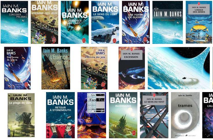 Livres de SF de Iain-M-Banks (inspiration d' OCISLY)