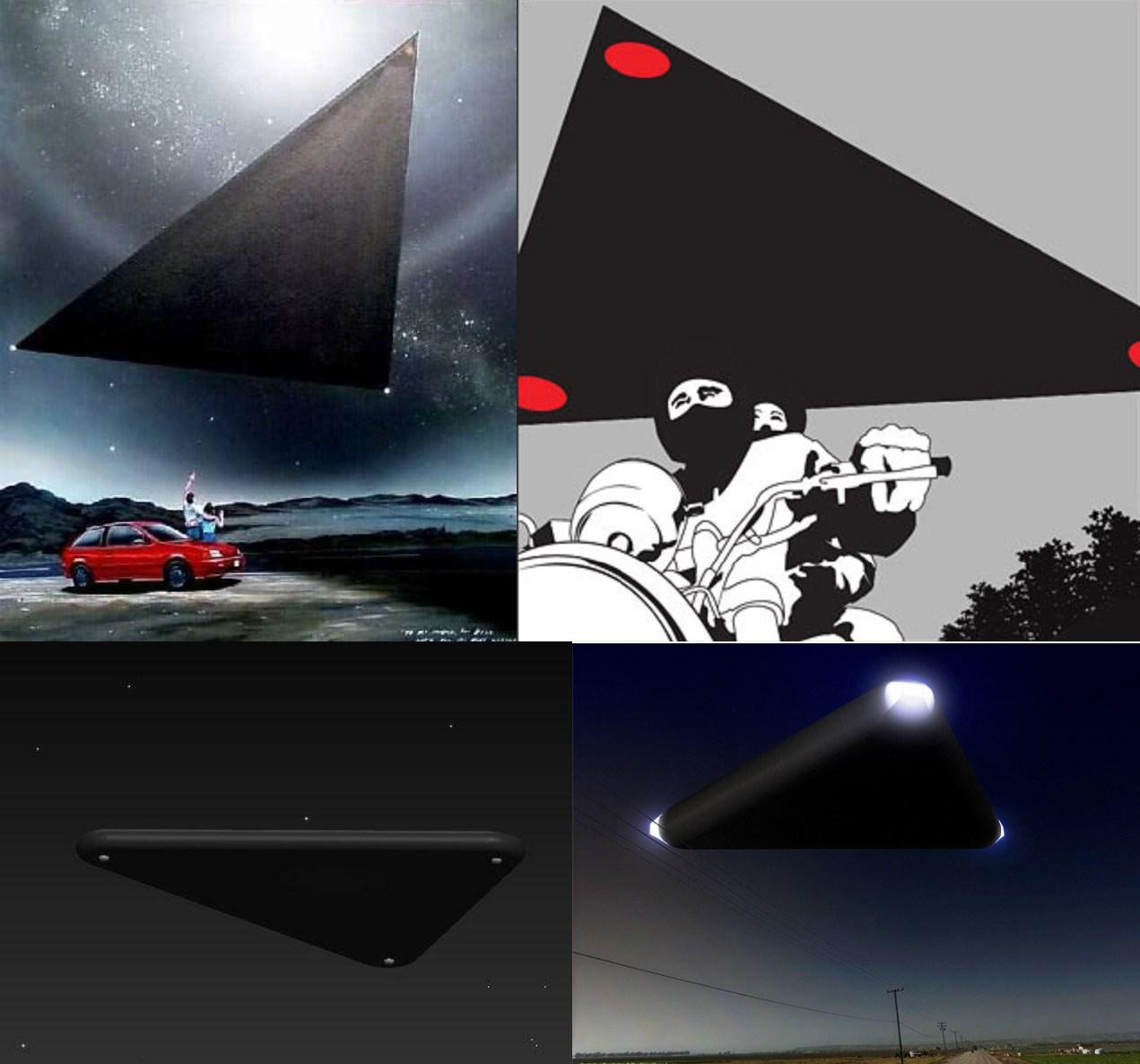 IMAGE 8. 4 cas triangles noirs catégorie 1