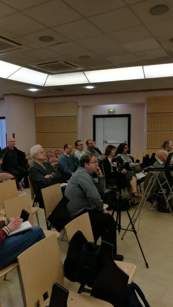 Le public avec au premier plan François