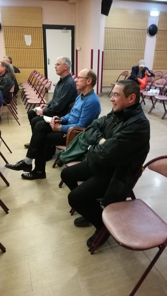 Didier Boulanger ,Raoul Robé et Thierry Rocher