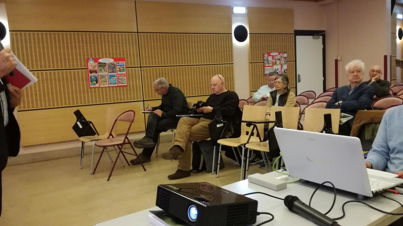 A gauche Thiery Rocher et Jean Claude Coste