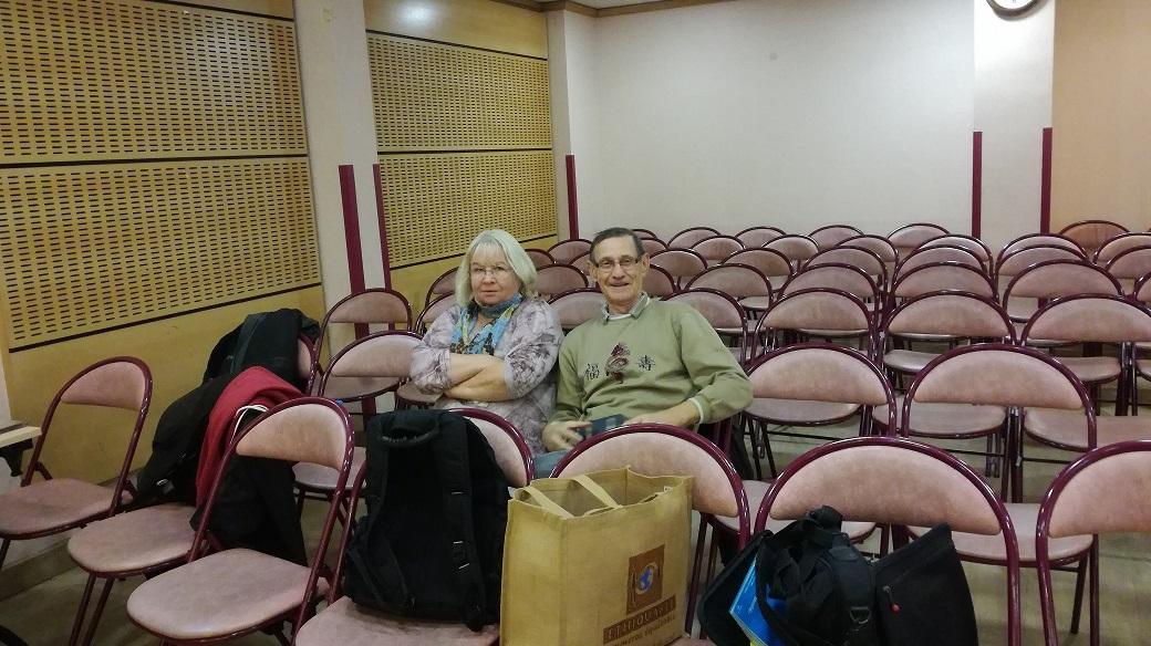 Francine Bordier et Patrice Seray